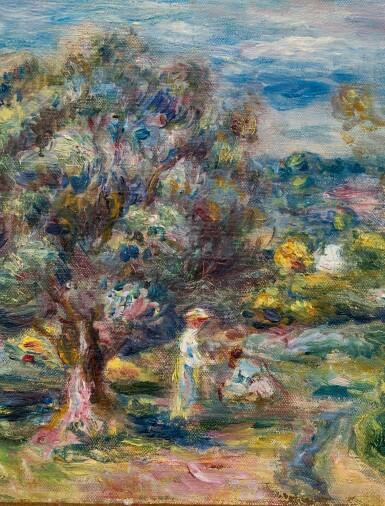 View 2. Thumbnail of Lot 1016. Pierre-Auguste Renoir 皮耶・奧古斯特・雷諾瓦   Aloès, la cueillette à Cagnes 卡涅蘆薈採摘.