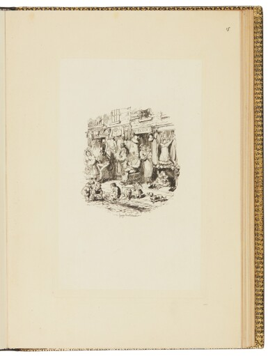 Cruikshank, Sketches by Boz,1836-1837, proof impressions of etched plates