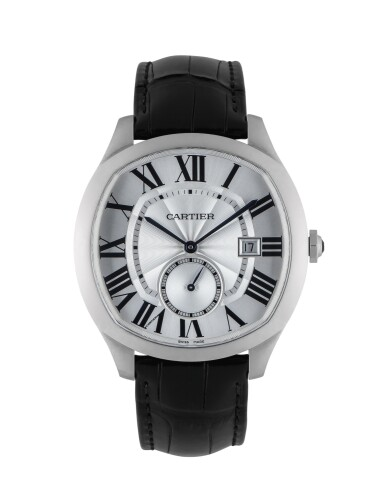 CARTIER | DRIVE DE CARTIER, REF WSNM0004 STAINLESS STEEL WRISTWATCH WITH DATE CIRCA 2018