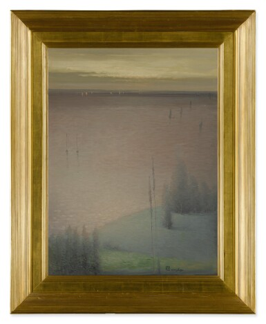 LEON DABO | TWILIGHT ON THE HUDSON (HARMONY IN GREEN AND BLUE)