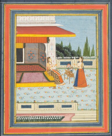 View 3. Thumbnail of Lot 65. INDIA, LATE 18TH CENTURY - 19TH CENTURY   THREE MINIATURES.