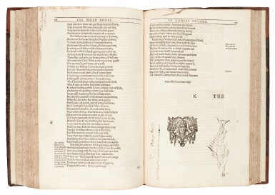 View 3. Thumbnail of Lot 146. Homer, The whole works, translated by Chapman, London, [1616?], calf.