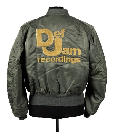 DEF JAM   ONE OF A KIND, NEVER PRODUCED PROTOTYPE JACKET, CA 1987-88