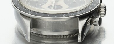 View 8. Thumbnail of Lot 14. Reference 6241 'Paul Newman' Daytona A stainless steel chronograph wristwatch, Circa 1968.