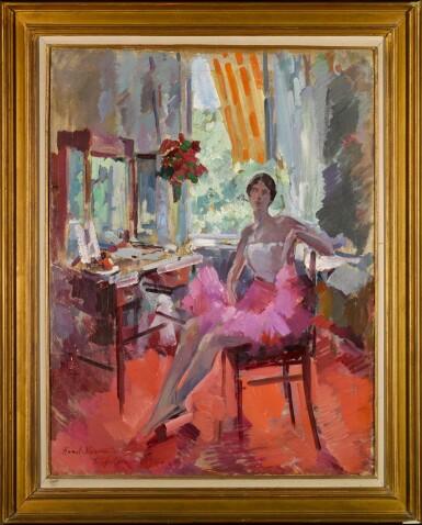 View 2. Thumbnail of Lot 69. Portrait of the Ballerina Vera Trefilova.