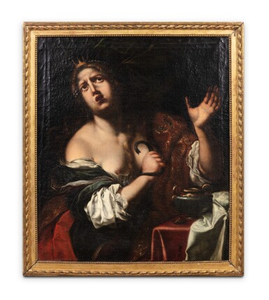 View 2. Thumbnail of Lot 154. The suicide of Cleopatra.