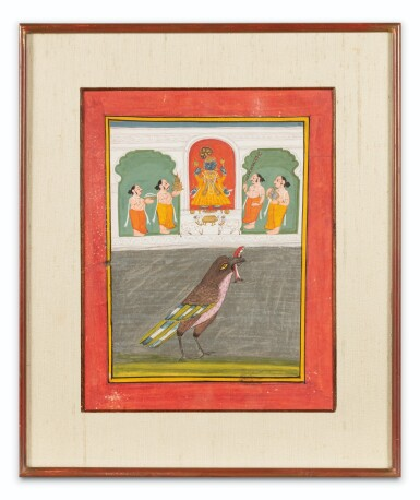 View 2. Thumbnail of Lot 69. RAJASTHAN, LATE 18TH CENTURY AND 19TH CENTURY | SEVEN INDIAN MINIATURES.