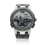 Reference 329-00 El Toro GMT Perpetual Calendar  A limited edition stainless steel automatic dual time wristwatch with perpetual calendar, Circa 2013