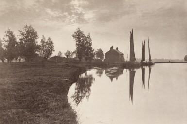 View 8. Thumbnail of Lot 33. England—Peter Henry Emerson and T.F. Goodall | Life and Landscape on the Norfolk Broads. London, 1886.