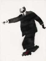 Lenin on Roller Skates