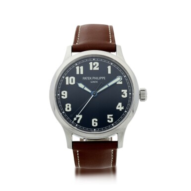 View 1. Thumbnail of Lot 62. REFERENCE 5522 PILOT CALATRAVA LE NEW YORK A LIMITED EDITION STAINLESS STEEL AUTOMATIC CENTER SECONDS WRISTWATCH, MADE FOR THE US MARKET, CIRCA 2018.