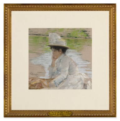 View 2. Thumbnail of Lot 52. Untitled (Portrait of Mrs. Chase).