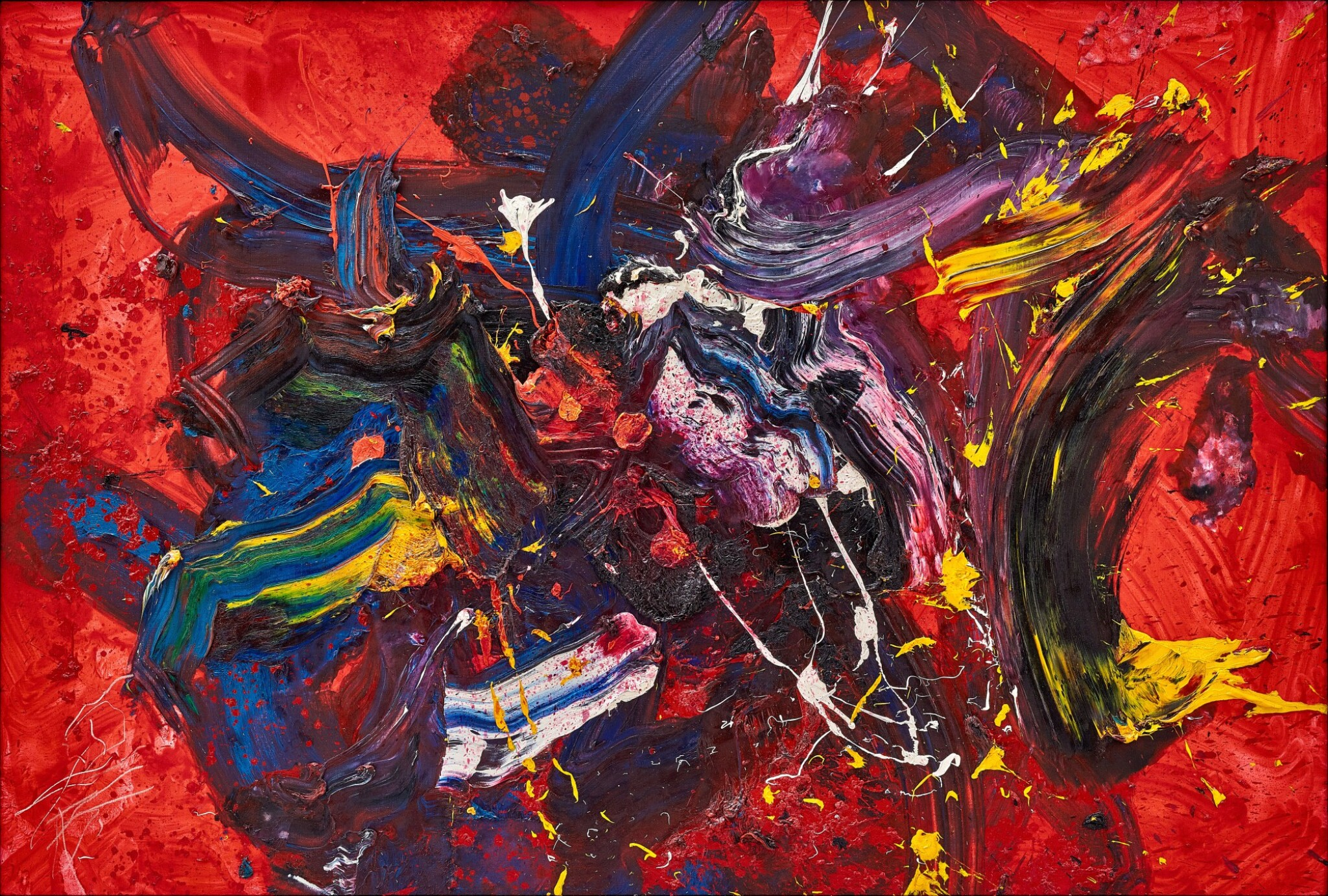 View full screen - View 1 of Lot 1125. Kazuo Shiraga 白髮一雄   Yougen 妖幻.
