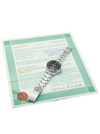 """View 5. Thumbnail of Lot 115. ROLEX 