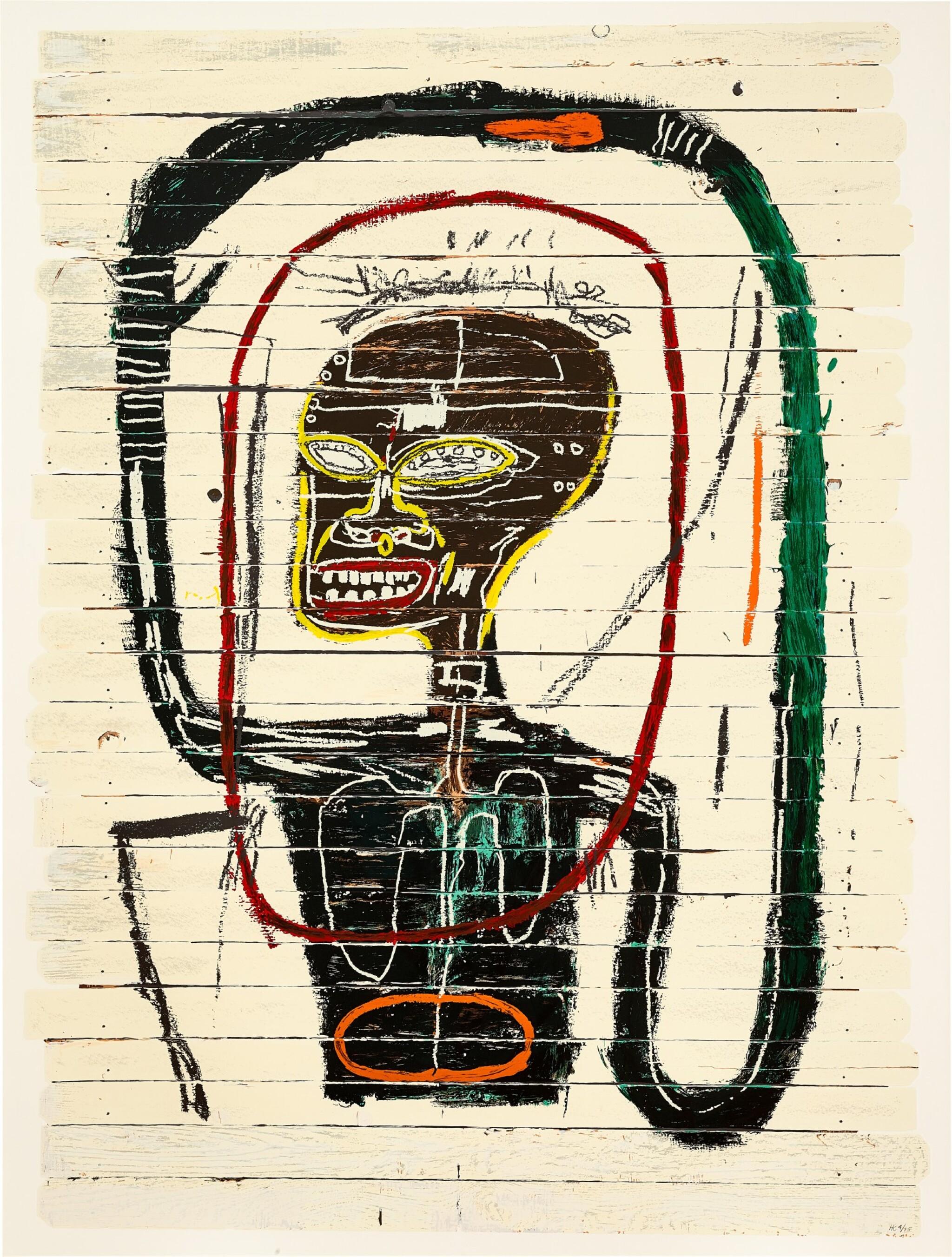 View full screen - View 1 of Lot 113. Jean-Michel Basquiat 尚・米榭・巴斯基亞 | Flexible 靈活.