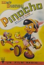 PINOCCHIO (1940) POSTER, SPANISH