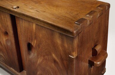 View 2. Thumbnail of Lot 280. ALEXANDRE NOLL | AN IMPORTANT TWO-DOOR CABINET.