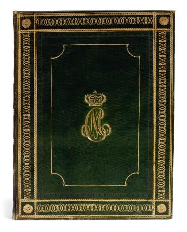 Bignotti, Elogio sacro del beato Amedeo IX, Turin, 1823, green morocco armorial gilt