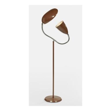"GRETA MAGNUSSON GROSSMAN   ""COBRA"" FLOOR LAMP"