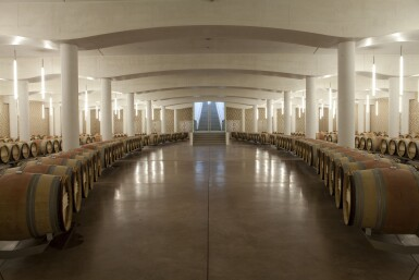 View 4. Thumbnail of Lot 1. Château Cheval Blanc 2011   Complete Collection of All Bottle Sizes   From Mestrezat Grands Crus.