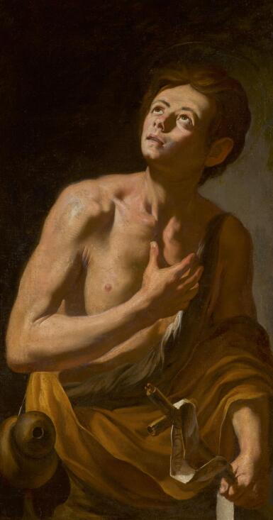 NEAPOLITAN SCHOOL, 17TH CENTURY | The young Saint John the Baptist