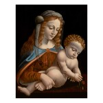 Sold Without Reserve   BERNARDINO DE' CONTI   MADONNA AND CHILD