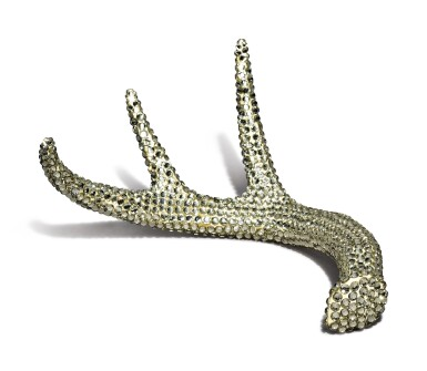 View 3. Thumbnail of Lot 7. MARC SWANSON   UNTITLED (SEQUINED ANTLER) (PETER NORTON FAMILY CHRISTMAS PROJECT).