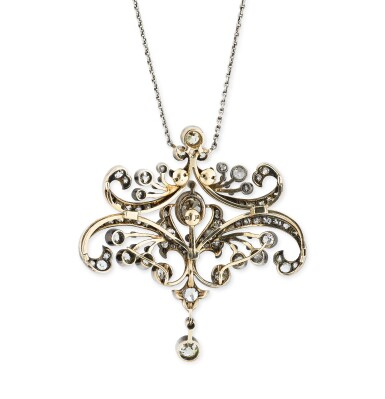 View 3. Thumbnail of Lot 4. COLLIER TRANSFORMABLE DIAMANTS | DIAMOND CONVERTIBLE NECKLACE.