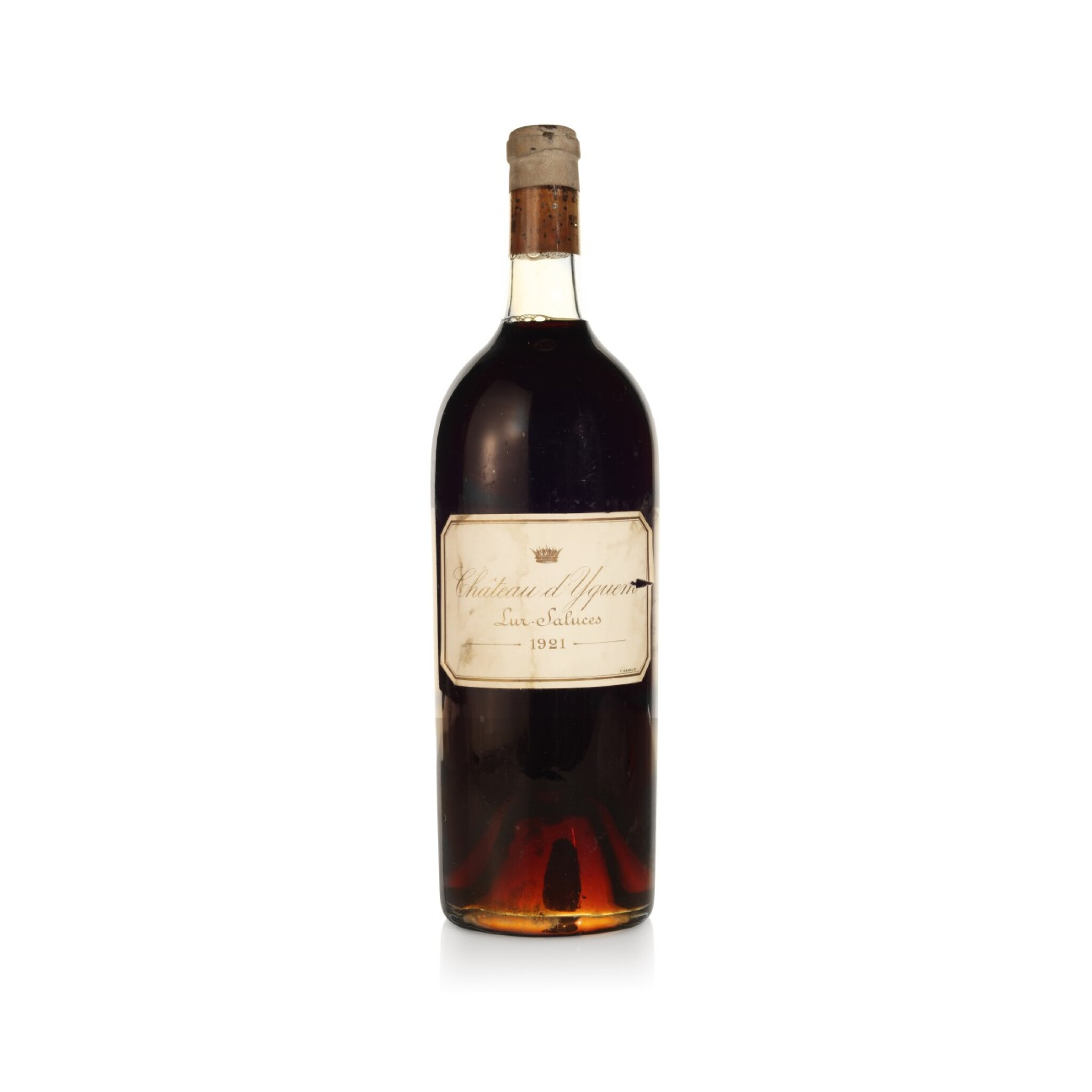 View full screen - View 1 of Lot 213. Château d'Yquem 1921 (1 MAG).