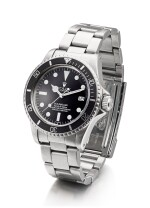 ROLEX | SEA-DWELLER, REFERENCE 1665, A STAINLESS STEEL WRISTWATCH WITH DATE, SERVICE DIAL AND BRACELET, CIRCA 1978