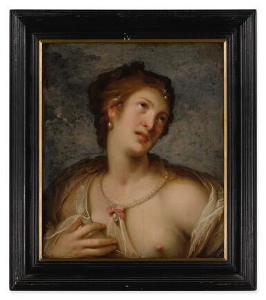 View 2. Thumbnail of Lot 591. Venus, or a young woman en deshabillé.