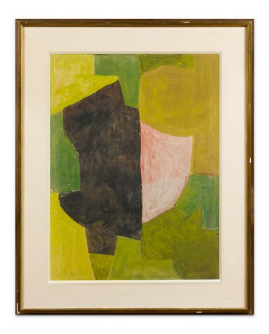 View 2. Thumbnail of Lot 19. SERGE POLIAKOFF | COMPOSITION VERTE.