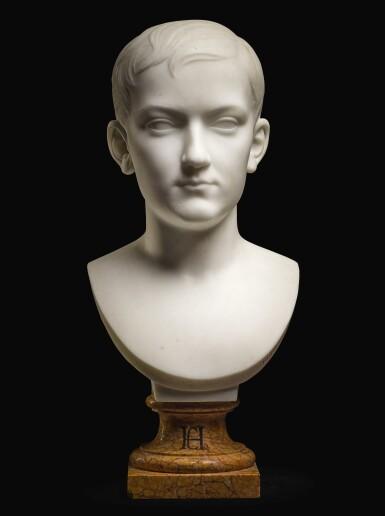 ROLAND MATHIEU-MEUSNIER | BUST OF FÉLIX HENRI CARVALHO (1854-1925)