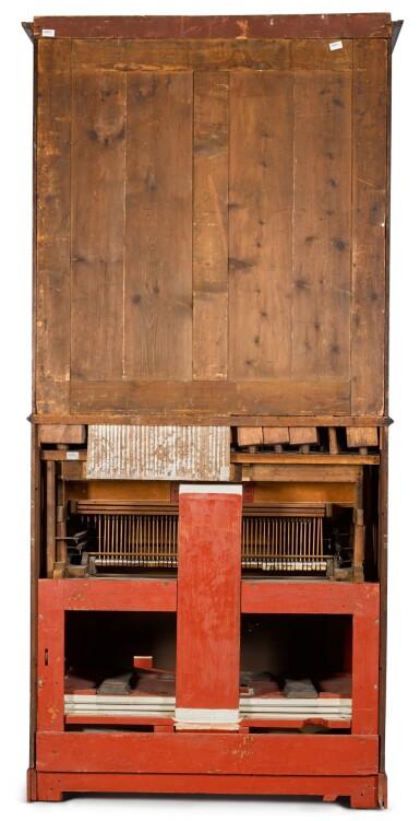 View 9. Thumbnail of Lot 167. A George III mahogany chamber organ by Hugh Russell, 1780.
