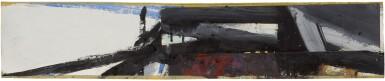 View 1. Thumbnail of Lot 206. FRANZ KLINE | STUDY FOR WASHINGTON WALL PAINTING.