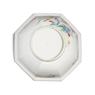 View 4. Thumbnail of Lot 142. A Kakiemon porcelain octagonal bowl, Edo period, 17th century.