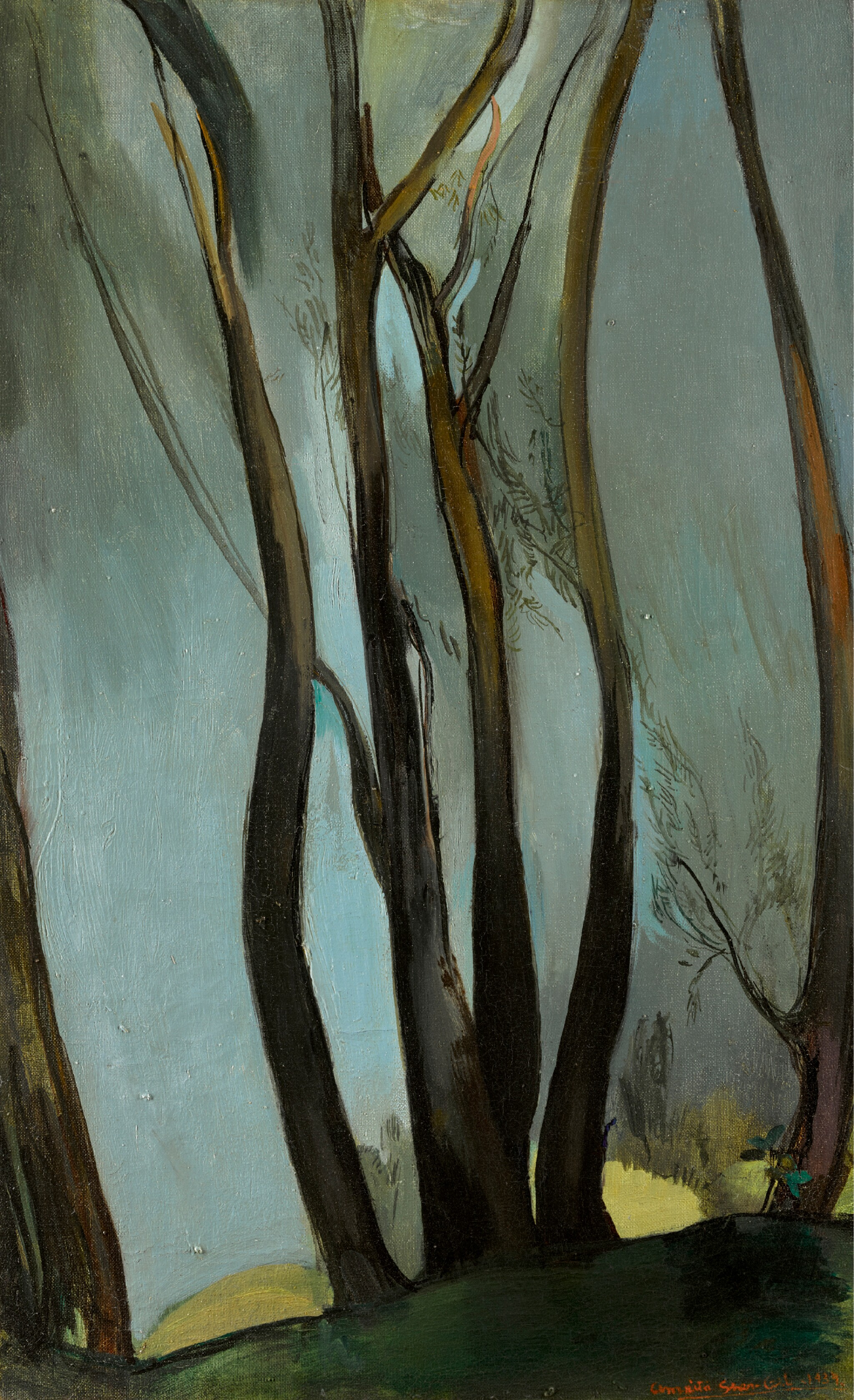 View full screen - View 1 of Lot 116.  AMRITA SHER-GIL | Trees .