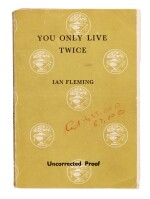 Ian Fleming | You Only Live Twice, uncorrected proof for Playboy, with related correspondence, 1963-64