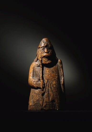 ATTRIBUTED TO THE LEWIS CHESSMEN WORKSHOP, PROBABLY NORWEGIAN, TRONDHEIM, 13TH CENTURY | A WARDER