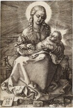 Madonna with the Swaddled Infant (B. 38; M., Holl. 40)