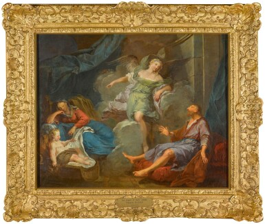 View 2. Thumbnail of Lot 187. The Dream of Saint Joseph.