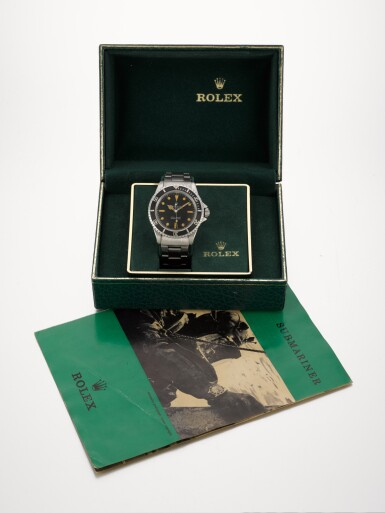 """View 6. Thumbnail of Lot 376. ROLEX 