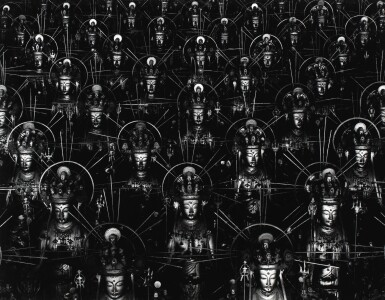 HIROSHI SUGIMOTO | HALL OF THIRTY-THREE BAYS - TIME EXPOSED (FROM BUDDHA SERIES), 1995