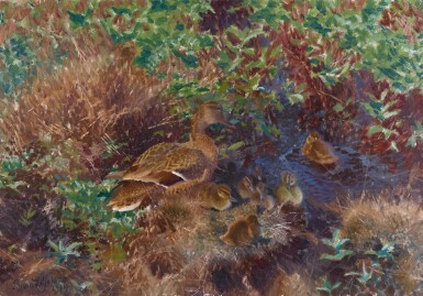 BRUNO LILJEFORS | Ducks on a Pond