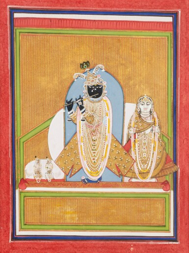 View 13. Thumbnail of Lot 35. RAJASTHAN, 19TH CENTURY | SEVEN INDIAN MINIATURES.