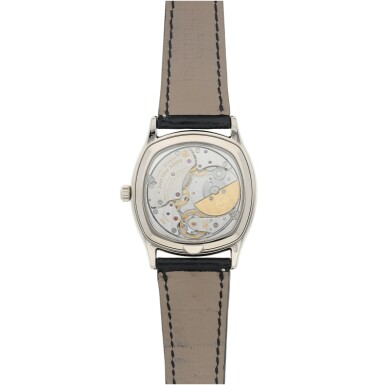 View 5. Thumbnail of Lot 162. REFERENCE 5940G-010 A FINE WHITE GOLD CUSHION FORM AUTOMATIC PERPETUAL CALENDAR WRISTWATCH WITH MOON PHASES, CIRCA 2018.