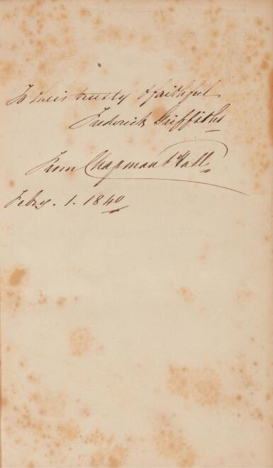 Dickens, Nicholas Nickleby, 1839, first edition in book form, publisher's presentation morocco binding