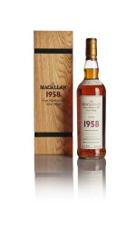 THE MACALLAN FINE & RARE 43 YEAR OLD 52.9 ABV 1958