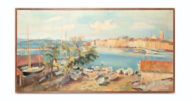 View 2. Thumbnail of Lot 26. ABEL GERBAUD | SAINT-TROPEZ, LE CHANTIER NAVAL     .