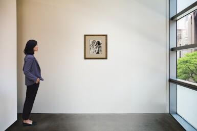 """View 4. Thumbnail of Lot 113. Figure à tête morbide, connu comme """"Les Trois Points""""."""